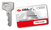C3000 Nyckelkort