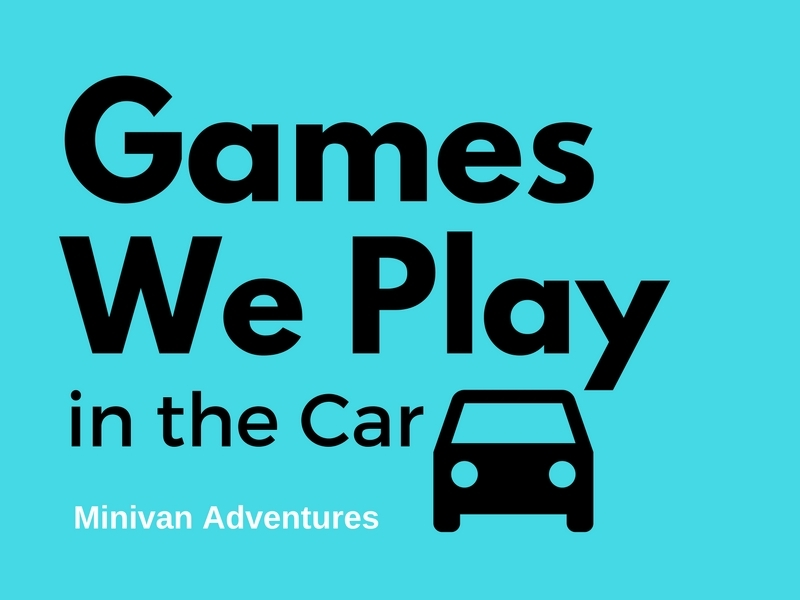 Here are a few super easy games to amuse your children on car rides.