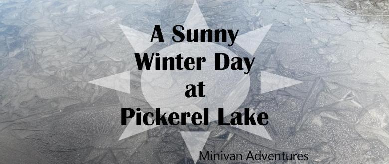 Pickerel Lake in West Michigan is a great place to visit on a nice day.