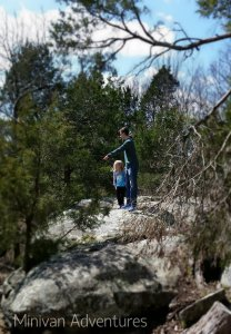 My teenager points out some interesting scenery to our little girl. He is such a good big brother.