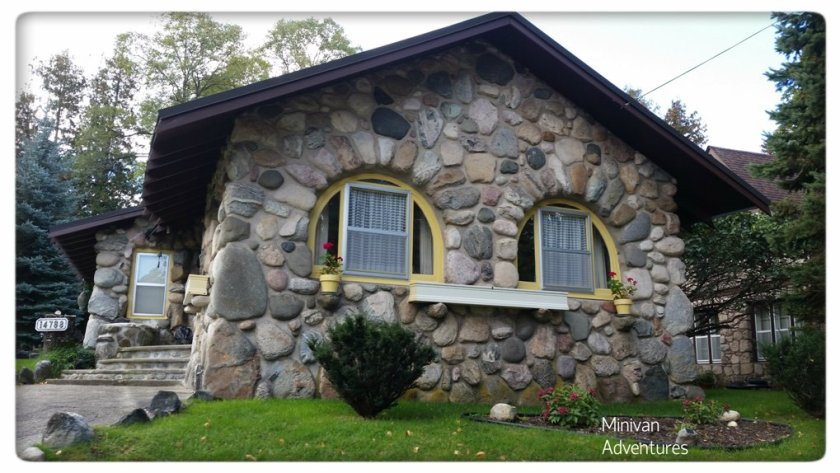 The Owl House features two semi-circle windows that is said to give the front of the home a bird-like appearance.