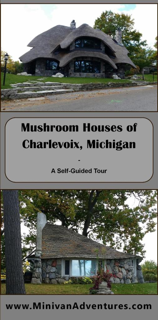A Self-Guided Tour of the Mushroom Houses in Charlevoix, Michigan | Designed by the architect Earl Young | Hobbit Houses | The Half House | Sunset Villa | Abide | Sucher House | Boulder Manor | Hobbit Houses | Fairytale Houses | Gnome Homes | Boulder Park | Charlevoix | Michigan | United States