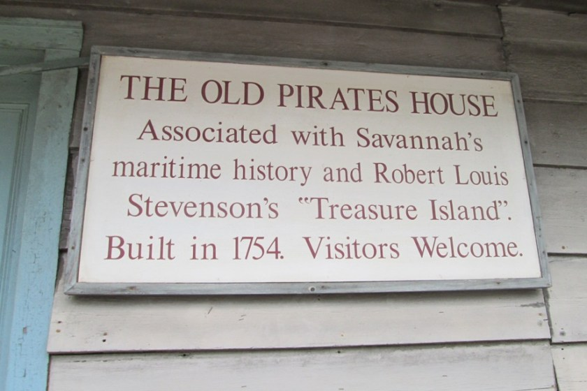 Said to be one of the most haunted buildings in Savannah, The Pirates House has significant historical ties to real pirates and is rumored to be the inspiration behind the famous Treasure Island book.