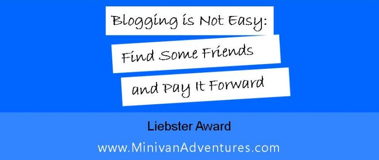 Blogging was more complicated than I expected it to be! I'm so glad I found friends to help me along, and now, I am thrilled to pay it forward by nominating a few of my favorite blogs for the Liebster Award.