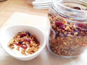 Granola is an easy and healthy make for your kdis