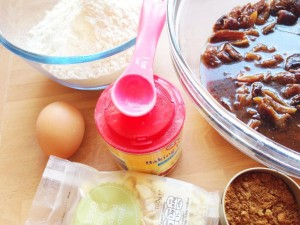 Simple ingredients for bara brith