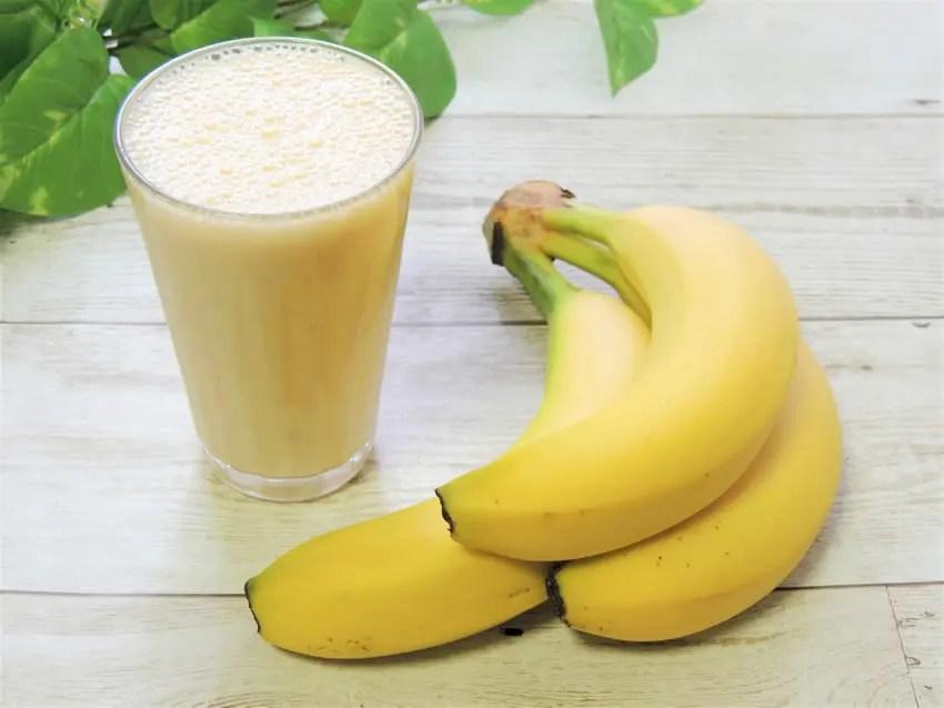 バナナジュース レシピ