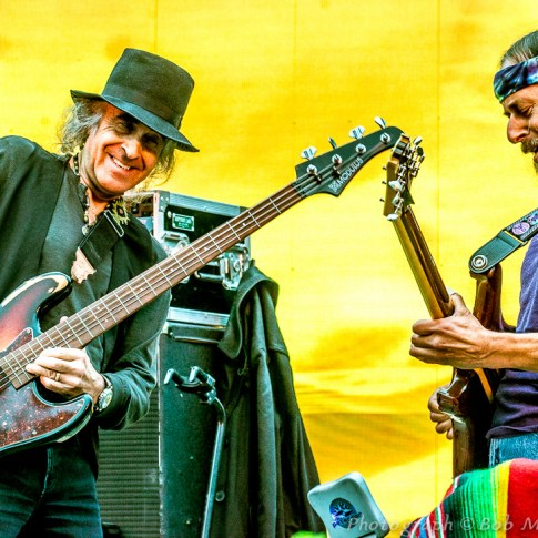Pete Sears & Barry Sless - Moonalice, Union Square, San Francisco, CA 7/22/15
