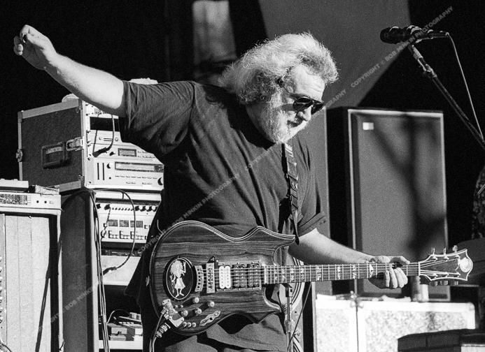 Jerry Garcia - Shoreline Amphitheatre, Mountainview, CA 8/17/91