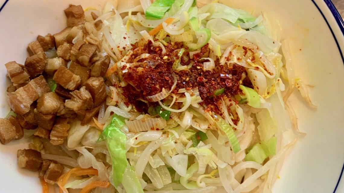 新川の秦唐記 タモリ倶楽部で紹介されたビャンビャン麺を食べてみた