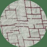 Limestone-linnen-printed