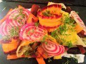 Bagte gulerødder med knas