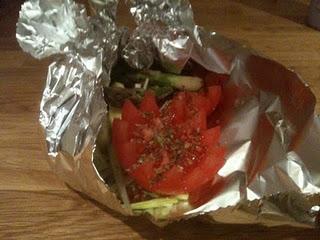 Grønnsakspakke med tomat