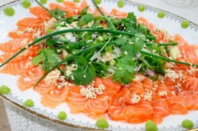 Laks sashimi
