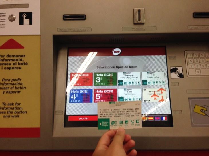 行-T-Jove地鐵票購買教學(巴賽隆納篇)   tina chan