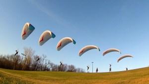 paragliding lessons