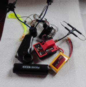 o-5v throttle with battery