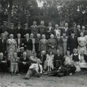 Groep Minnertsgeasters op de foto