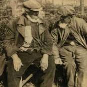 Conversatie op een mooie zomerse dag in juni 1938