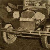 Romke Wijngaarden reed met verduisterde koplampen (1939)