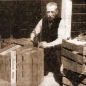 Age Knol was vijftig jaar bode van het Groene Kruis