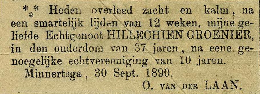 Adv.overlijden-Hillichien-Groenier