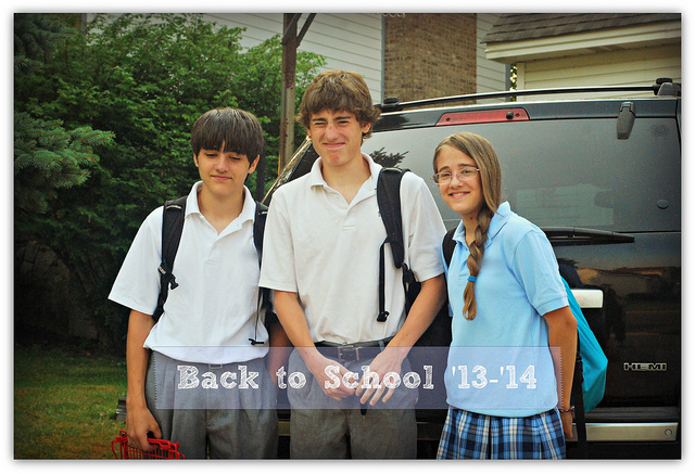Back to School {with gratitude}