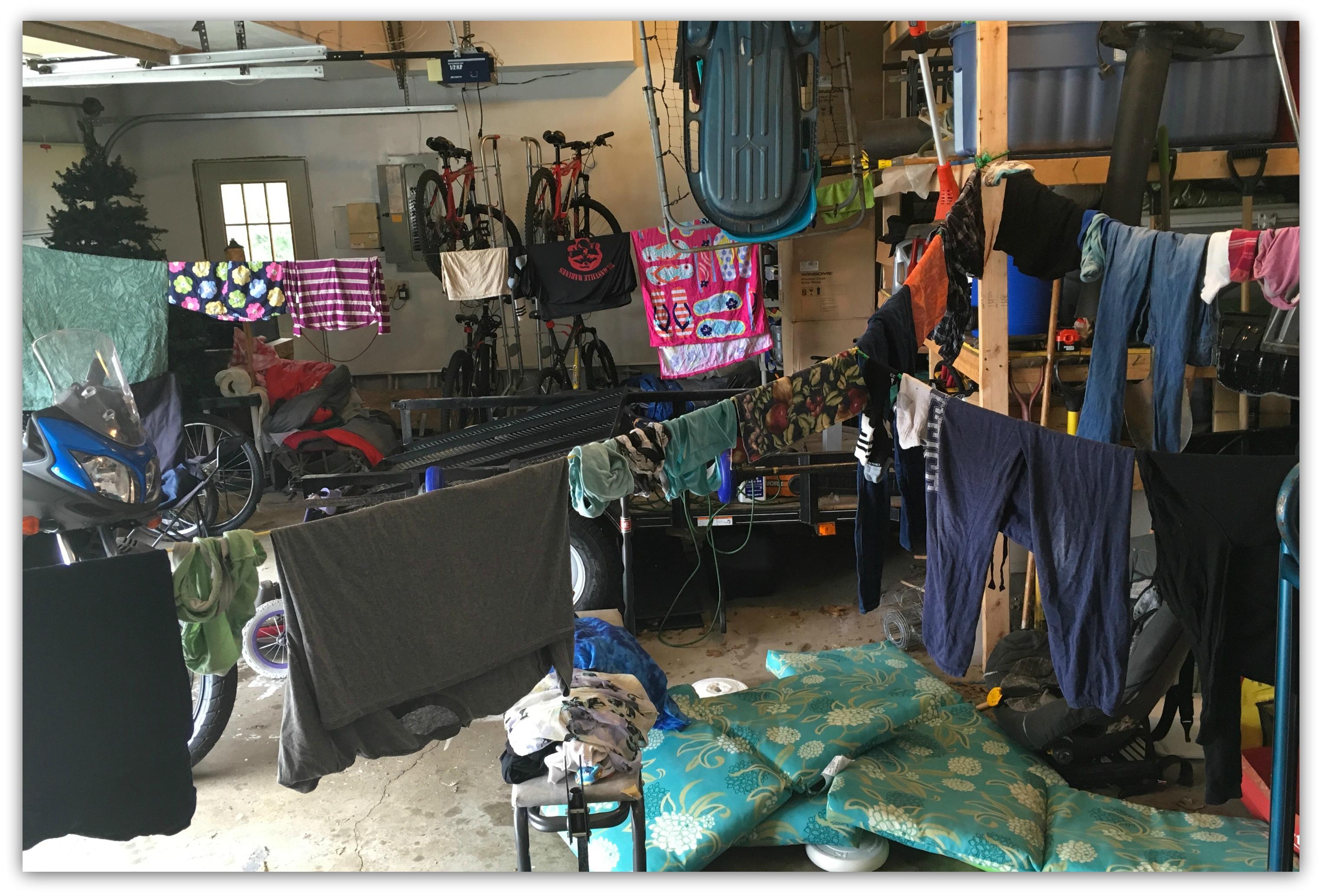Garage Laundry