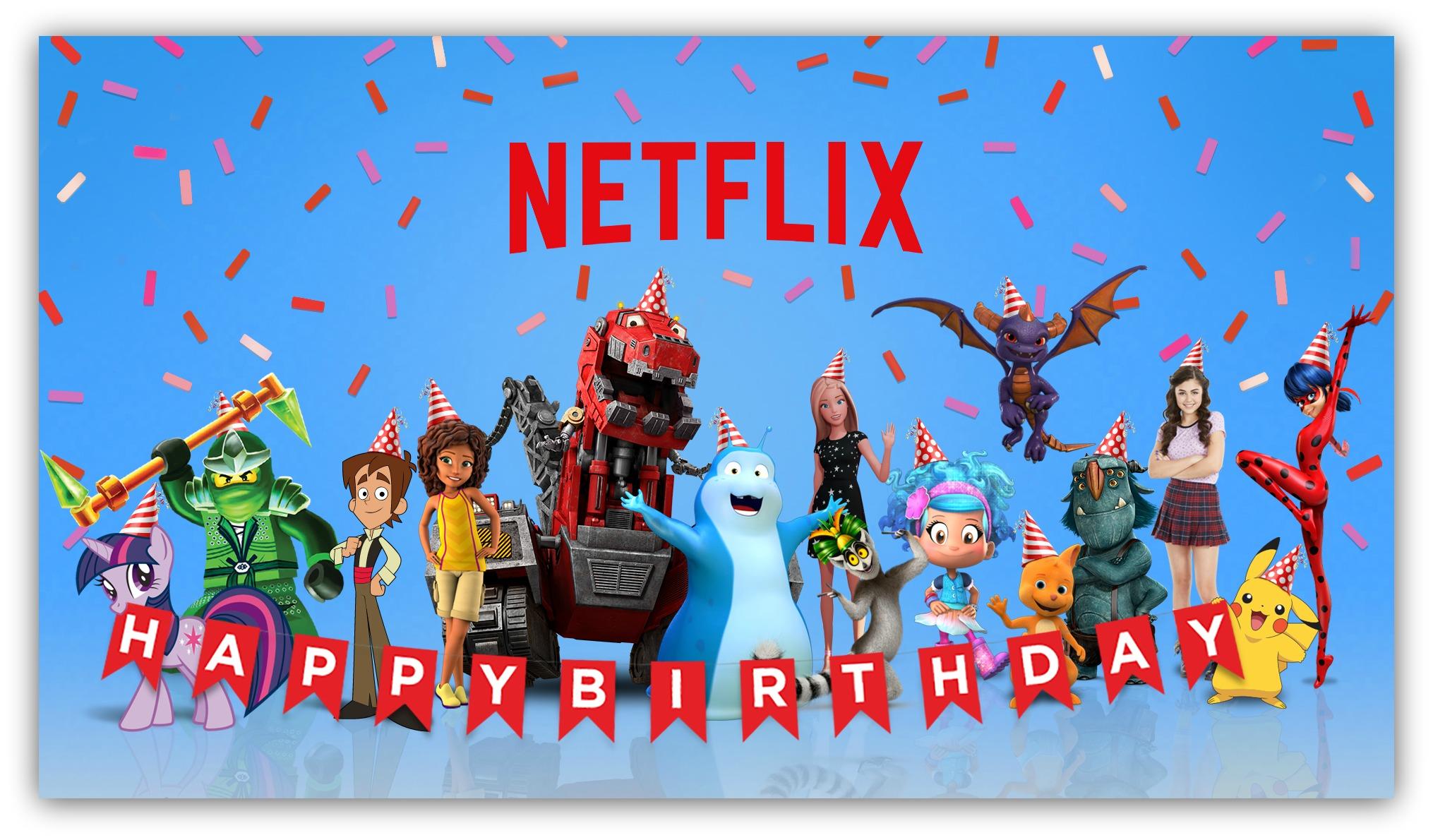 NETFLIX Birthday I
