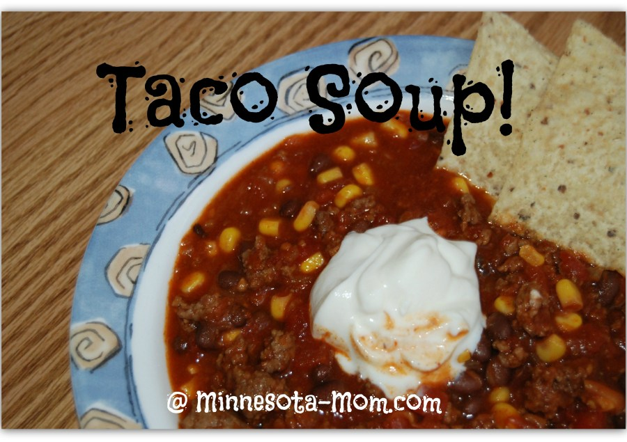 Let's Taco (Soup) about It! Happy Cinco de Mayo ♥