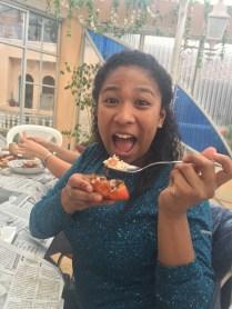 Crab head a la mode