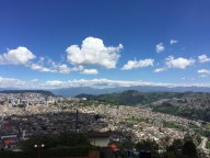 Quito from the volcano top