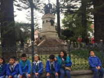 Learning about the history of Ecuador