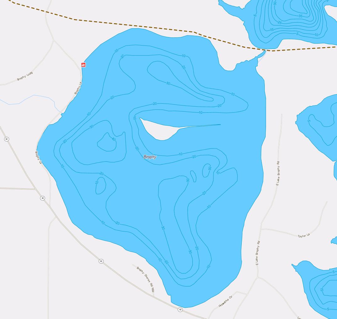 Brophy Lake Resorts Amp Maps