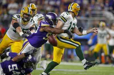 Vikings are Underdogs as Packers Come to Town