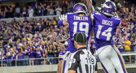 Adam Thielen and Stefon Diggs are GOOD at Football – Fantasy Football Agrees