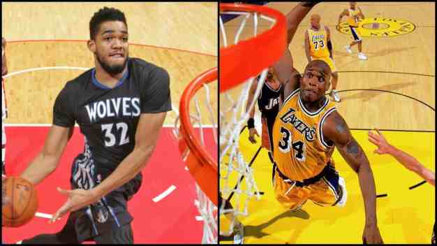 KAT's Birthday Present: Shaq Comparisons
