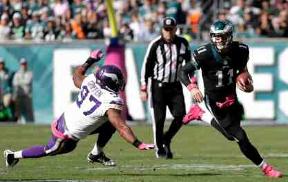 Sunday was Tough for the Vikings but Worse for the Eagles