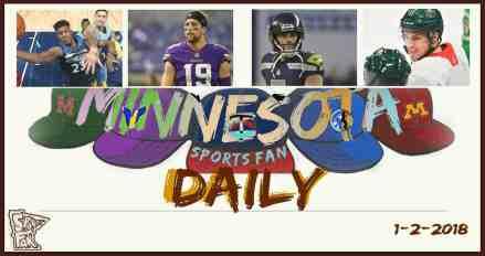 MINNESOTA SPORTS FAN DAILY: Tuesday, January 2, 2017