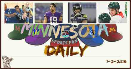 MINNESOTA SPORTS FAN DAILY: Tuesday, January 2, 2017