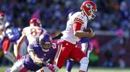Cross Alex Smith Off Your List; Vikings QB Search Narrows After Trade