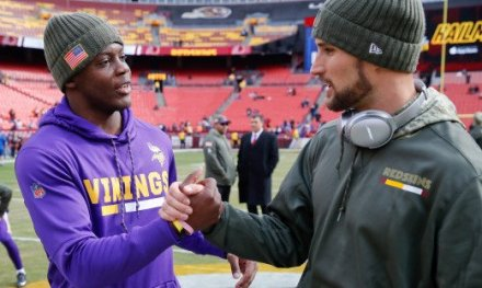 With Keenum/Brees OUT as Vikings QB; It's Now Cousins with a Bridgewater Backup Plan
