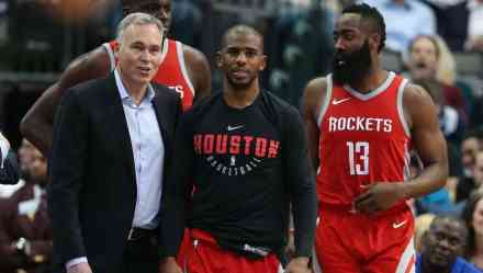 D'Antoni, Paul, and Harden's Playoff Histories Tell Us Timberwolves Can Win Series