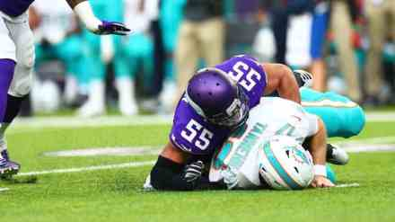 Vikings Destroy Dolphins with Zimmer-Ball