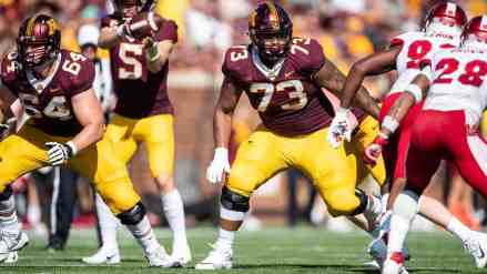 Gopher Offensive Tackle Donnell Greene to Skip Bowl Game after Signing with Agent