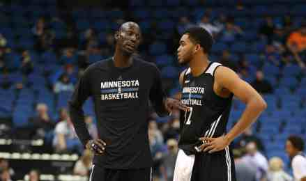 Hold the Phone.. Kevin Garnett is at Timberwolves HQ Today