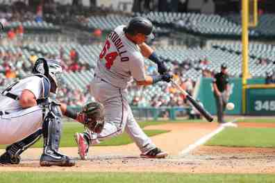 (WATCH) Astudillo Takes Berrios Deep in First of Two HR's from Monday Scrimmage