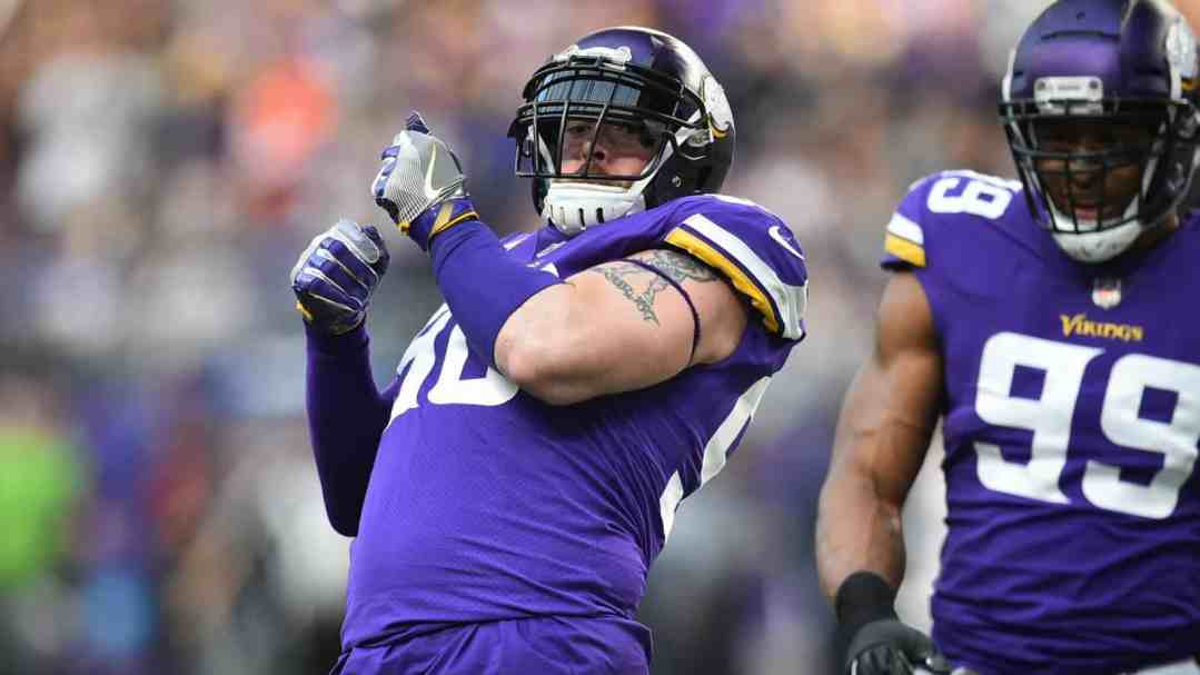 Brian Robison was a Great Catch… and a Tough One to Release.