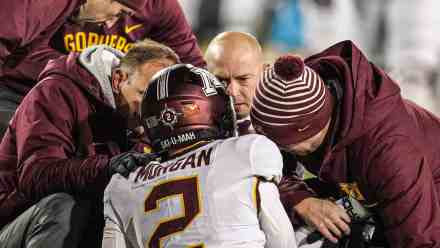 PJ Fleck Handled Tanner Morgan Concussion Admirably… No Matter What Some Might Think
