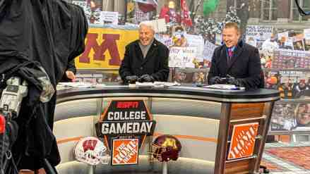 U of M-Hosted ESPN College Gameday Sets Viewing Records; Game Off Charts Too
